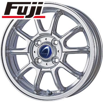 タイヤはフジ 送料無料 TECHNOPIA テクノピア アルテミス LSW 4J 4.00-13 YOKOHAMA ブルーアース AE-01 165/70R13 13インチ サマータイヤ ホイール4本セット
