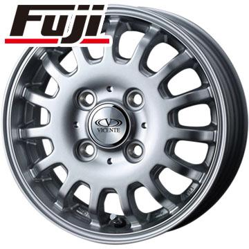 タイヤはフジ 送料無料 WEDS ウェッズ ビセンテ 04 CA スズキ キャリー専用 3.5J 3.50-12 BRIDGESTONE エコピア R710 80/78N(限定) 145/80R12 12インチ サマータイヤ ホイール4本セット
