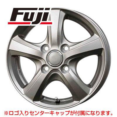 タイヤはフジ 送料無料 BRANDLE ブランドル F5 4J 4.00-12 YOKOHAMA DNA エコス 145/70R12 12インチ サマータイヤ ホイール4本セット