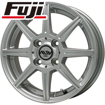タイヤはフジ 送料無料 CLIMATE クライメイト アリア 3.5J 3.50-12 DUNLOP エコ EC201 145/80R12 12インチ サマータイヤ ホイール4本セット