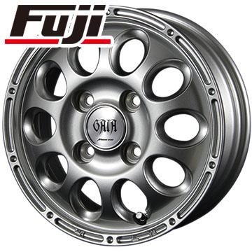 タイヤはフジ 送料無料 MID ガイアブリッグ スズキ キャリー専用 3.5J 3.50-12 DUNLOP エナセーブ VAN01 6PR 145/80R12 145R12 12インチ サマータイヤ ホイール4本セット