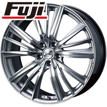 タイヤはフジ 送料無料 WEDS ウェッズ レオニス FY 6.5J 6.50-16 DUNLOP EC202L 215/60R16 16インチ サマータイヤ ホイール4本セット