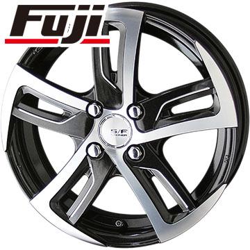 タイヤはフジ 送料無料 KYOHO 共豊 シュタイナーフォースド SF-C 4.5J 4.50-14 FALKEN ジークス ZE912 155/55R14 14インチ サマータイヤ ホイール4本セット