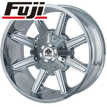 タイヤはフジ 送料無料 TWG メイヘム メタル 8104 9J 9.00-18 PIRELLI スコーピオン ヴェルデAS 265/60R18 18インチ サマータイヤ ホイール4本セット