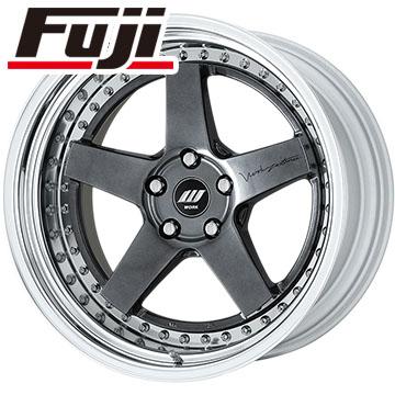 タイヤはフジ 送料無料 WORK ワーク ジスタンス W5S サンドイッチ 8.5J 8.50-20 DELINTE デリンテ DS8(限定) 225/35R20 20インチ サマータイヤ ホイール4本セット