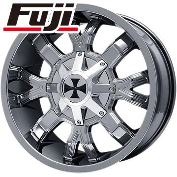 タイヤはフジ 送料無料 TWG カリオフロード 9104 9J 9.00-20 AMP MUD TERRAIN ATTACK M/T(限定) 265/50R20 20インチ サマータイヤ ホイール4本セット