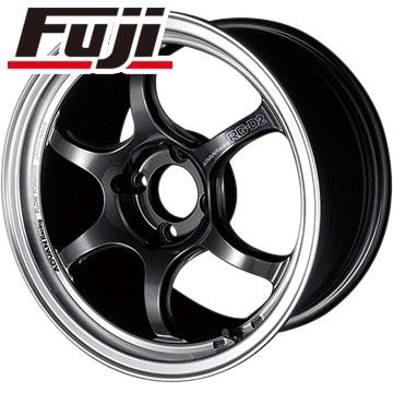 タイヤはフジ 送料無料 YOKOHAMA アドバンレーシング RG-DII 5.5J 5.50-15 YOKOHAMA ブルーアース RV-02CK 185/65R15 15インチ サマータイヤ ホイール4本セット