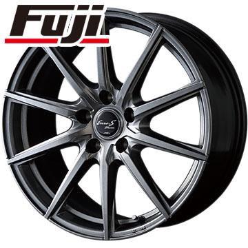 タイヤはフジ 送料無料 MID ユーロストリーム JL10 6.5J 6.50-16 DUNLOP ルマン V(ファイブ) 195/60R16 16インチ サマータイヤ ホイール4本セット
