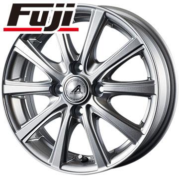 タイヤはフジ 送料無料 INTER MILANO インターミラノ AZ-SPORTS YL-10 4.5J 4.50-14 BRIDGESTONE エコピア NH100 C 155/65R14 14インチ サマータイヤ ホイール4本セット
