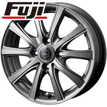 タイヤはフジ 送料無料 INTER MILANO インターミラノ クレール DG10 4.5J 4.50-14 FALKEN ジークス ZE912 155/55R14 14インチ サマータイヤ ホイール4本セット