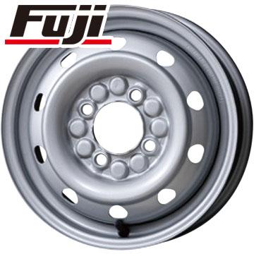 タイヤはフジ 送料無料 ELBE エルベ オリジナル スチール M74 3.5J 3.50-12 YOKOHAMA RY52 6PR 145/80R12 145R12 12インチ サマータイヤ ホイール4本セット