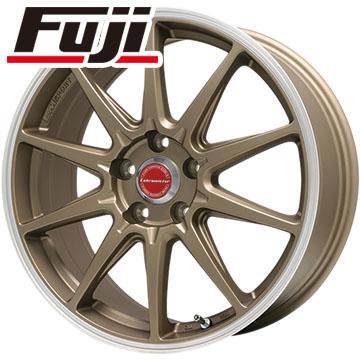 タイヤはフジ 送料無料 LEHRMEISTER LMスポーツRS10(マットブロンズリムポリッシュ) 7.5J 7.50-18 YOKOHAMA ジオランダー SUV G055 225/60R18 18インチ サマータイヤ ホイール4本セット
