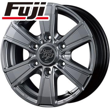 タイヤはフジ 送料無料 ハイエース200系 MID ロードマックス マッドレンジャー 6.5J 6.50-16 BRIDGESTONE GL-R 109/107 215/65R16 16インチ サマータイヤ ホイール4本セット