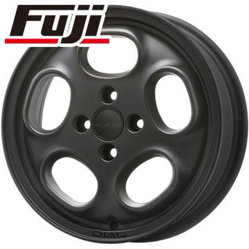 タイヤはフジ 送料無料 MLJ ハイペリオン ダイアル 4.5J 4.50-15 BRIDGESTONE エコピア NH100 C 165/55R15 15インチ サマータイヤ ホイール4本セット