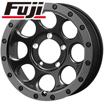 タイヤはフジ 送料無料 ジムニー MLJ エクストリームJ XJ03 5.5J 5.50-16 YOKOHAMA ジオランダー M/T+ G001J 195/80R16 16インチ サマータイヤ ホイール4本セット