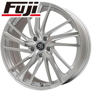 タイヤはフジ 送料無料 PREMIX プレミックス ドルチェ3x5(ハイパーシルバーポリッシュ) 8J 8.00-18 FALKEN アゼニス FK510 SUV 235/50R18 18インチ サマータイヤ ホイール4本セット