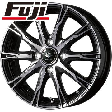 タイヤはフジ 送料無料 TOPY トピー ディルーチェ DX10 4.5J 4.50-14 DUNLOP EC202L 165/55R14 14インチ サマータイヤ ホイール4本セット