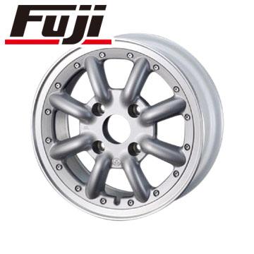 8月 2・5・8日はポイント倍増! タイヤはフジ 送料無料 S660用 WATANABE ワタナベ New RS8 F:5.00-15 R:6.50-16 DUNLOP ディレッツァ ZIII F:165/55R15 R:195/45R16 サマータイヤ ホイール4本セット