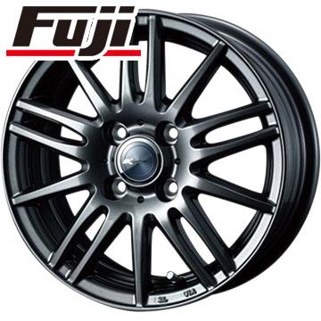 タイヤはフジ 送料無料 WEDS ウェッズ ザミック ティート 4J 4.00-12 DUNLOP エコ EC201 145/80R12 12インチ サマータイヤ ホイール4本セット
