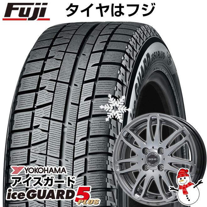 【送料無料】 YOKOHAMA ヨコハマ アイスガード ファイブIG50プラス 175/65R14 14インチ スタッドレスタイヤ ホイール4本セット BRANDLE ブランドル G72 5.5J 5.50-14 フジコーポレーション
