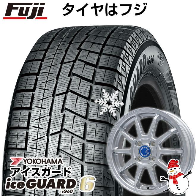 【送料無料】 YOKOHAMA ヨコハマ アイスガード シックスIG60 165/70R14 14インチ スタッドレスタイヤ ホイール4本セット BRANDLE ブランドル M60 5.5J 5.50-14 フジコーポレーション