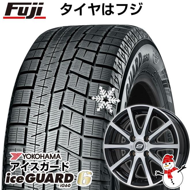 【送料無料】 YOKOHAMA ヨコハマ アイスガード シックスIG60 155/65R13 13インチ スタッドレスタイヤ ホイール4本セット BRANDLE ブランドル M71BP 4J 4.00-13 フジコーポレーション
