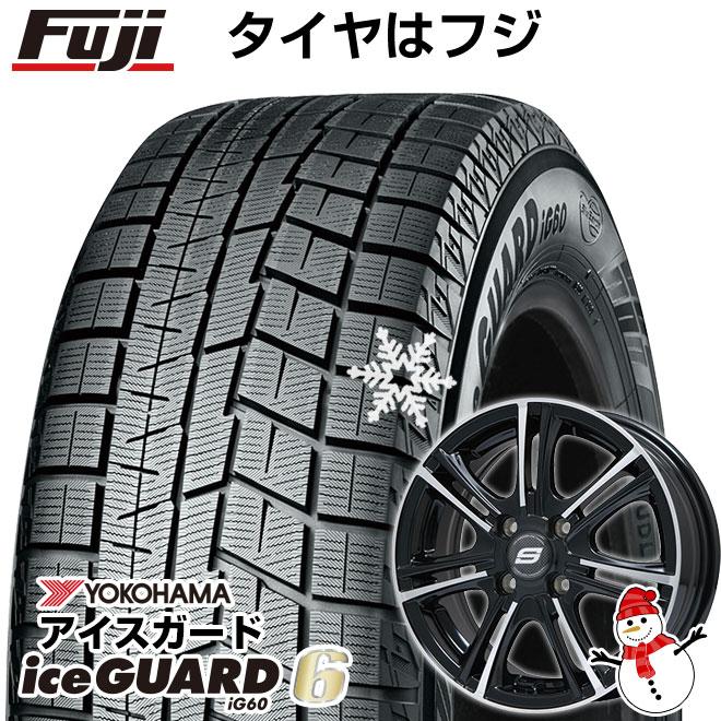 【送料無料】 YOKOHAMA ヨコハマ アイスガード シックスIG60 165/65R14 14インチ スタッドレスタイヤ ホイール4本セット BRANDLE ブランドル M68BP 5.5J 5.50-14 フジコーポレーション