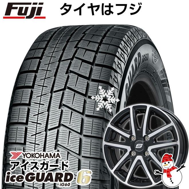 【送料無料】 YOKOHAMA ヨコハマ アイスガード シックスIG60 165/65R14 14インチ スタッドレスタイヤ ホイール4本セット BRANDLE ブランドル M61BP 5.5J 5.50-14 フジコーポレーション
