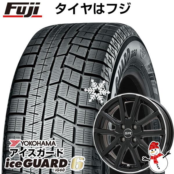 【送料無料】 YOKOHAMA ヨコハマ アイスガード シックスIG60 165/65R14 14インチ スタッドレスタイヤ ホイール4本セット BRANDLE ブランドル N52B 5.5J 5.50-14