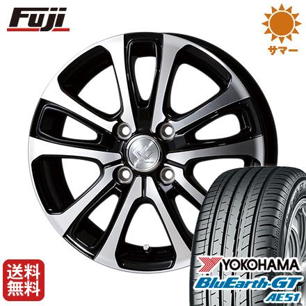 タイヤはフジ 送料無料 TOPY トピー セレブロ LF5 5.5J 5.50-15 YOKOHAMA ブルーアース GT AE51 185/60R15 15インチ サマータイヤ ホイール4本セット