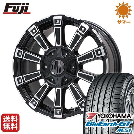 タイヤはフジ 送料無料 LEHRMEISTER レアマイスター モウスト(ブラックポリッシュ)限定 4.5J 4.50-15 YOKOHAMA ブルーアース GT AE51 165/55R15 15インチ サマータイヤ ホイール4本セット