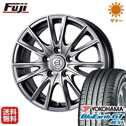 タイヤはフジ 送料無料 アフロディーテ EF TECHNOPIA テクノピア アフロディーテ EF GT 6.5J 6.50-16 YOKOHAMA ブルーアース GT AE51 205/65R16 16インチ サマータイヤ ホイール4本セット, 大分 九州高原牧場:986ebbb8 --- sunward.msk.ru
