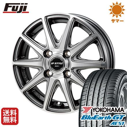 タイヤはフジ 送料無料 MONZA モンツァ JPスタイルベーカー 4.5J 4.50-15 YOKOHAMA ブルーアース GT AE51 165/55R15 15インチ サマータイヤ ホイール4本セット
