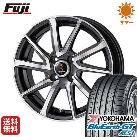 タイヤはフジ 送料無料 185/55R15 タイヤはフジ WORK ワーク GT セプティモ G01 ダークグレーポリッシュ 5.5J 5.50-15 YOKOHAMA ブルーアース GT AE51 185/55R15 15インチ サマータイヤ ホイール4本セット, レインボーオフィスWebShop:6ae8cb39 --- sunward.msk.ru