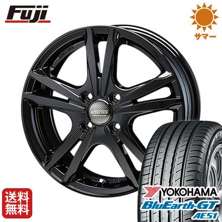 タイヤはフジ 送料無料 BLEST ブレスト バーンズテック ジゼリスFV 5.5J 5.50-15 YOKOHAMA ブルーアース GT AE51 175/65R15 15インチ サマータイヤ ホイール4本セット