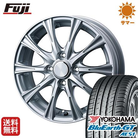 タイヤはフジ 送料無料 BRANDLE ブランドル NEJ限定 6J 6.00-16 YOKOHAMA ブルーアース GT AE51 195/55R16 16インチ サマータイヤ ホイール4本セット