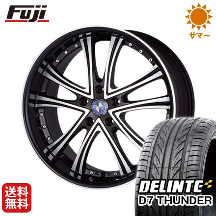 タイヤはフジ 送料無料 MONZA モンツァ ワーウィック DS.05 7J 7.00-17 DELINTE デリンテ D7 サンダー(限定) 205/50R17 17インチ サマータイヤ ホイール4本セット