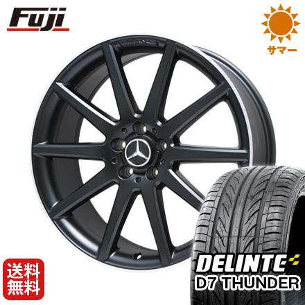 タイヤはフジ 送料無料 ベンツGLA(X156) AMG 10スポーク 8J 8.00-20 DELINTE デリンテ D7 サンダー(限定) 245/35R20 20インチ サマータイヤ ホイール4本セット 輸入車