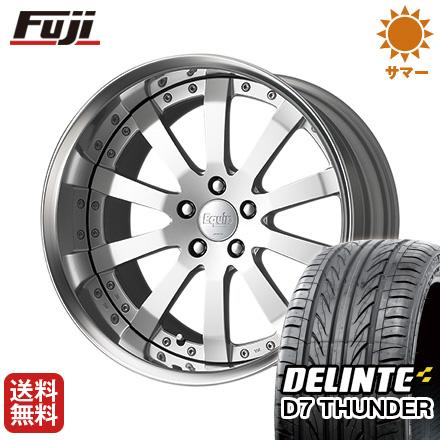 タイヤはフジ 送料無料 ベンツSクラス(W222/C217) WORK エクイップ E10 F:8.50-20 R:9.50-20 DELINTE デリンテ D7 サンダー(限定) F:245/40R20 R:275/35R20 サマータイヤ ホイール4本セット 輸入車
