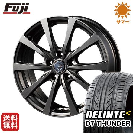 タイヤはフジ 送料無料 INTER MILANO インターミラノ クレール RG10 7J 7.00-17 DELINTE デリンテ D7 サンダー(限定) 215/55R17 17インチ サマータイヤ ホイール4本セット