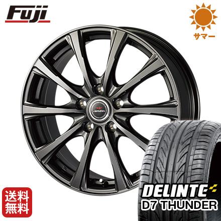 タイヤはフジ 送料無料 DUNLOP ダンロップ エアノヴァ SB10 7J 7.00-17 DELINTE デリンテ D7 サンダー(限定) 215/45R17 17インチ サマータイヤ ホイール4本セット