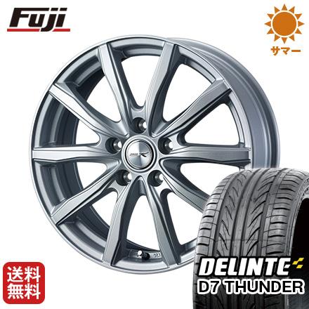 タイヤはフジ 送料無料 WEDS ウェッズ ジョーカー シェイク 7J 7.00-17 DELINTE デリンテ D7 サンダー(限定) 225/50R17 17インチ サマータイヤ ホイール4本セット