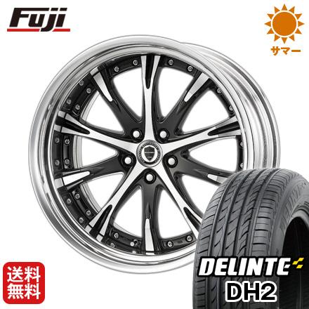 タイヤはフジ 送料無料 WORK ワーク シュヴァート SC4 9J 9.00-21 DELINTE デリンテ DH2(限定) 245/35R21 21インチ サマータイヤ ホイール4本セット