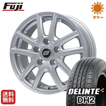 タイヤはフジ 送料無料 BRANDLE ブランドル M61 7J 7.00-16 DELINTE デリンテ DH2(限定) 215/60R16 16インチ サマータイヤ ホイール4本セット