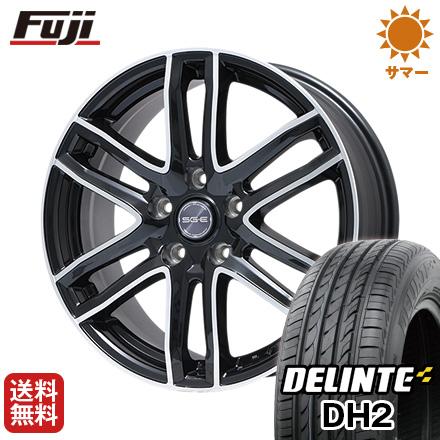 タイヤはフジ 送料無料 BRANDLE ブランドル G61B 6J 6.00-16 DELINTE デリンテ DH2(限定) 205/60R16 16インチ サマータイヤ ホイール4本セット