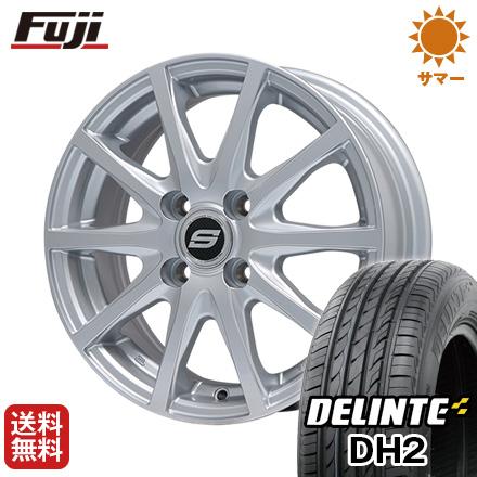 タイヤはフジ 送料無料 BRANDLE ブランドル M71 6.5J 6.50-16 DELINTE デリンテ DH2(限定) 205/55R16 16インチ サマータイヤ ホイール4本セット