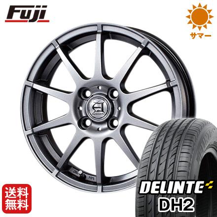 タイヤはフジ 送料無料 TECHNOPIA テクノピア アフロディーテ HS 4.5J 4.50-14 DELINTE デリンテ DH2(限定) 155/65R14 14インチ サマータイヤ ホイール4本セット