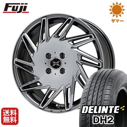 タイヤはフジ 送料無料 PREMIX プレミックス バリック(BMCポリッシュ) 5J 5.00-16 DELINTE デリンテ DH2(限定) 165/45R16 16インチ サマータイヤ ホイール4本セット