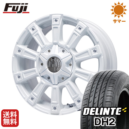 タイヤはフジ 送料無料 LEHRMEISTER レアマイスター モウスト(ホワイト) 4.5J 4.50-15 DELINTE デリンテ DH2(限定) 165/55R15 15インチ サマータイヤ ホイール4本セット