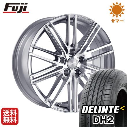 タイヤはフジ 送料無料 BRIDGESTONE ブリヂストン エコフォルム CRS/161 6.5J 6.50-15 DELINTE デリンテ DH2(限定) 195/65R15 15インチ サマータイヤ ホイール4本セット